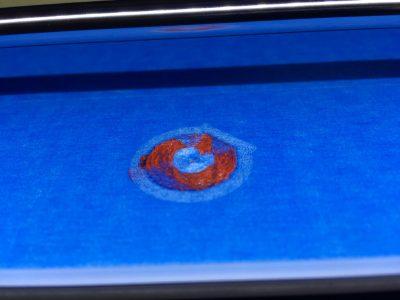 sem extrusão no início da impressão Sem extrusão no início da impressão IMG 6395