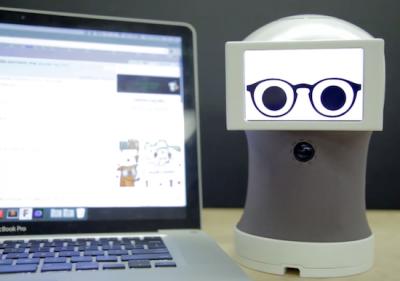 Peeqo O pequeno robô que se comunica através de GIFs Peeqo O pequeno robô que se comunica através de GIFs Peeqo1 400x281