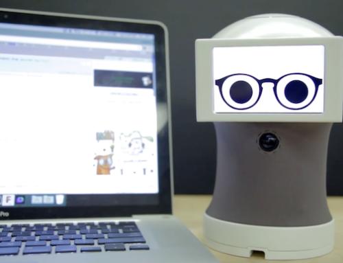 Peeqo O pequeno robô que se comunica através de GIFs