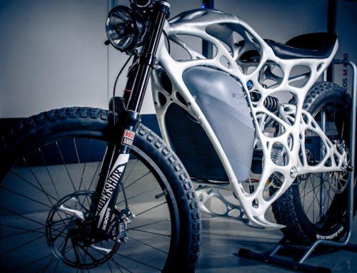 Light Rider, a primeira mota elétrica impressa em 3D